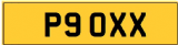 XX INITIALS  Private CHERISHED Registration Number PLATE  OXX  POO POOEY P